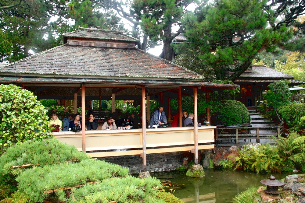 T japon s en san francisco viajes y for Estanques japoneses jardin