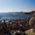 Vistas desde la Torre Gálata