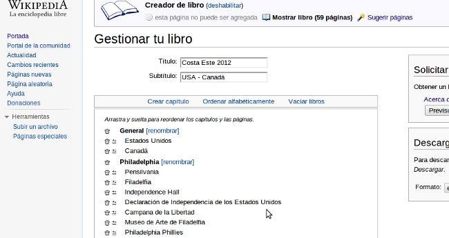 Guia Viaje Gratis con Wikipedia