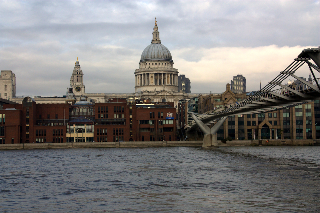 Catedral desde Tate Modern