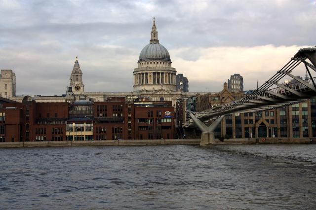 Catedral desde Tate Modern