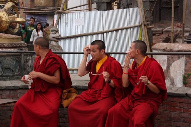 Swayambhunath budistas