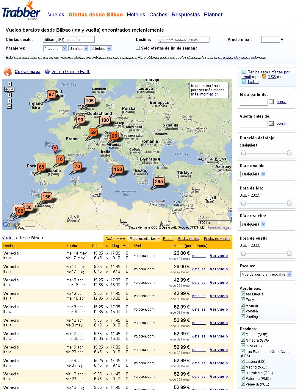 Buscar vuelos baratos sin conocer el destino | overbook.in ... - photo#40