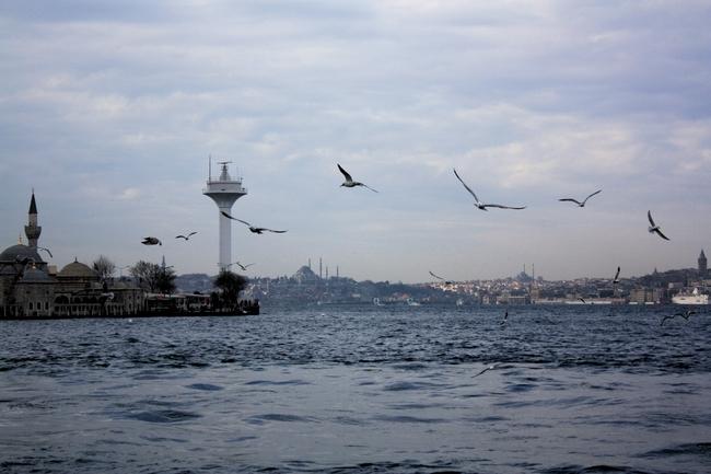 Ferry Estambul Bósforo Europa-Asia